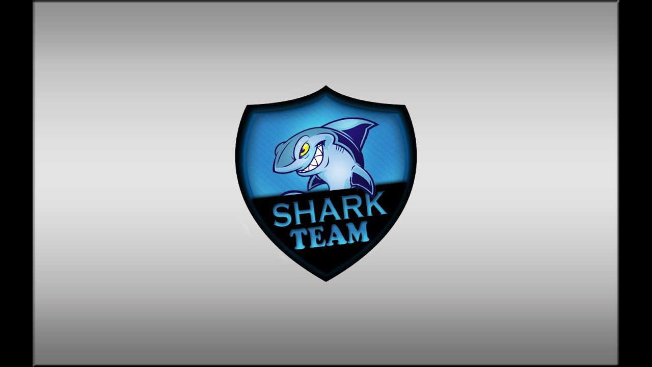 Shark Photoshop Tutorial Photoshop Shark Team Logo Psd