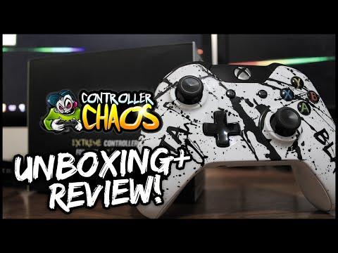 Vantablack Controller?! | Controller Chaos Xbox One Controller Unboxing/Review!