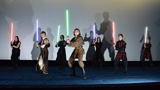 Lightsaber duel on StarFans - Star Wars Festival.