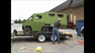 Outdoor adventures scenario paintball tank re-build