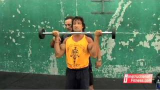 Instructional Fitness - Barbell Curls