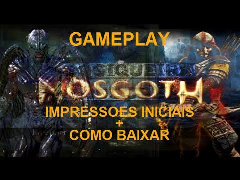 NOSGOTH gameplay impressoes iniciais+como baixar HD