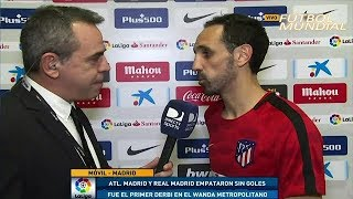 "Atletico de Madrid vs Real Madrid 0-0 Declaraciones JuanFran ""El Empate no sirve"""