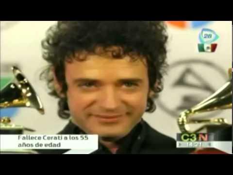 Biografía de Gustavo Cerati Muere Cerati Gustavo Cerati dies at age 55