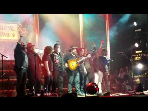 The Zac brown band Welcome Home Concert at meadowbrook 2017