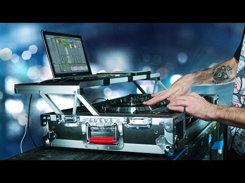 G-Tour DJ Controller Road Case with Sliding Laptop Platform