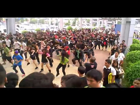 The Black Eyed Peas Flash Mob 2011 (Megamall) Part-1