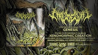 PHRYMERIAL - XENOMORPHIC CREATION [OFFICIAL ALBUM STREAM] (2019) SW EXCLUSIVE