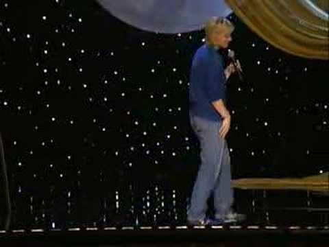 Ellen Degeneres doing standup