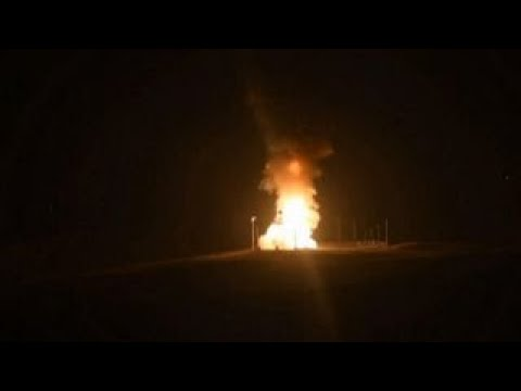US test-launches ICBM amid North Korea tensions