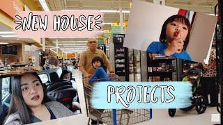 Vlog #387 | BELANJA DI WALMART, MORE HOUSE PROJECTS!