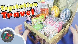 Xách Vali lên và mở đồ chơi bất ngờ ToyStation Travel 202