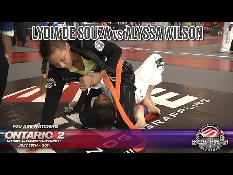 FIVE Grappling Ontario 2: Lydia De Souza vs Alyssa Wilson (PreTeen / Orange Belt / Final)