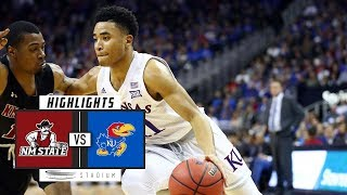 New Mexico State vs. No. 2 Kansas Basketball Highlights (2018-19) | Stadium