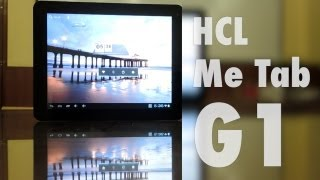 HCL Me Tab G1 - Video Review