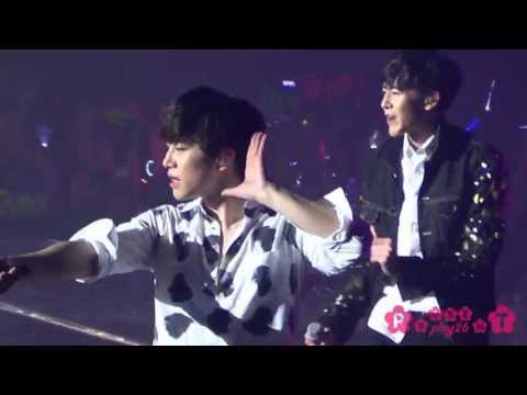 130408 2PM WTII in BKK Chan Ho 찬성 준호 10/10 & Hands up