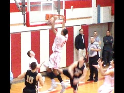 Point Pleasant Beach 6'7 forward Dom Uhl is on is way to Iowa next season. He threw down a sick put back dunk vs. Southern Regional in the Shore Conference T...