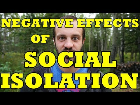 Negative Effects of Social Isolation