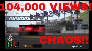 Gran Turismo 3 Like the Wind! 104,000 VIEWS! CRAZY WHEELIE COLLISIONS! Comeback Train With GT-One!