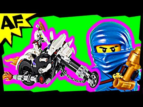 Jay & SKULL MOTORBIKE 2259 Lego Ninjago Animated Building Review