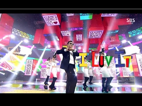 PSY - 'I LUV IT' 0514 SBS Inkigayo