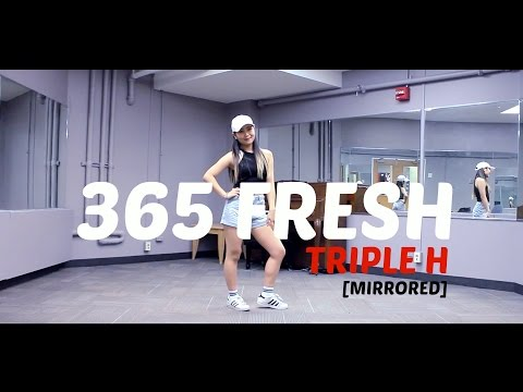 Triple H(트리플 H) _ 365 FRESH _ Lisa Rhee Dance Cover _ Mirrored