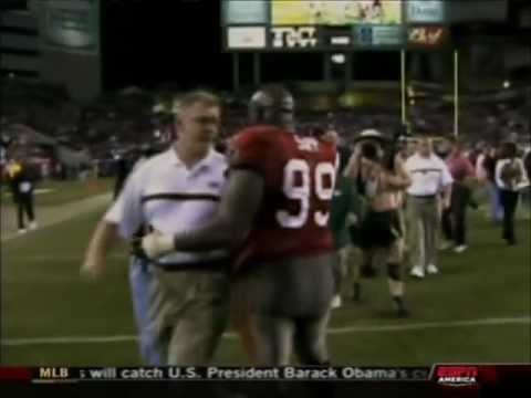 sapp hit on clifton