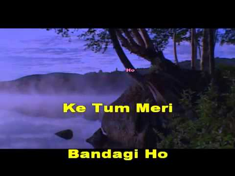 Ye Mera Prem Patra Padhkar - Karaoke video
