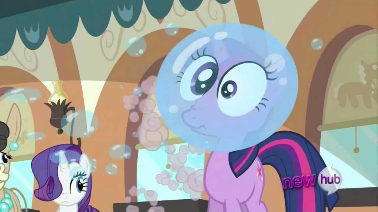 Twilight Sparkle Head In A Bubble YouTube