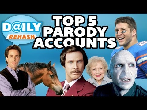 Top 5 Parody Twitter Accounts | DAILY REHASH | Ora TV