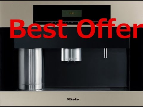 Buy miele built in whole coffee bean system NOW