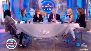 Chuck Schumer - Chats Travel Band, Trump In For Fight - The View