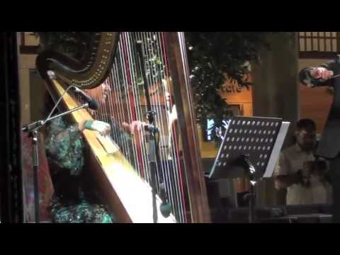 The Hamami Trio - Hilwa Ya Baladi - The Central Market Abu Dhabi - Lidia Harp