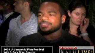 ALH On The Red Carpet With  Film Director, F. Gary Gray