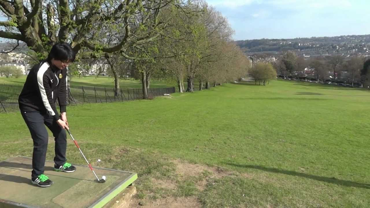Take A Swing Bath Approach Golf Course Youtube