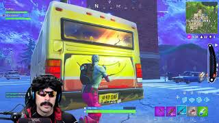 Dr Disrespect Plays Fortnite | Duo Win With Kraftyyz | Game 3 (2/23/18)