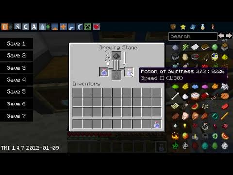 Minecraft - Como Hacer Pociones De Velocidad