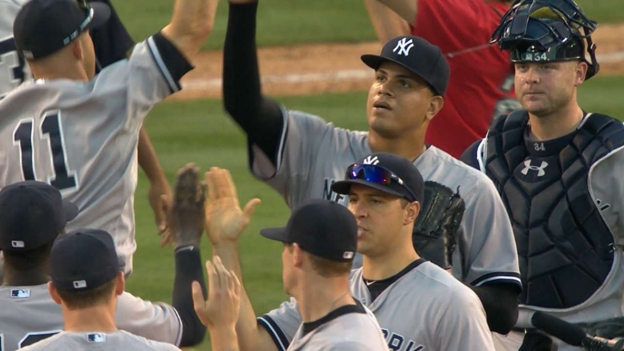 7/1/15: Jones homers in Yankees' win over Angels