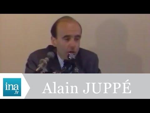 Robert Poujade et Alain Juppé à Dijon - Archive INA