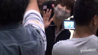 130809 Taiwan Taoyuan International Airport Kyuhyun focus