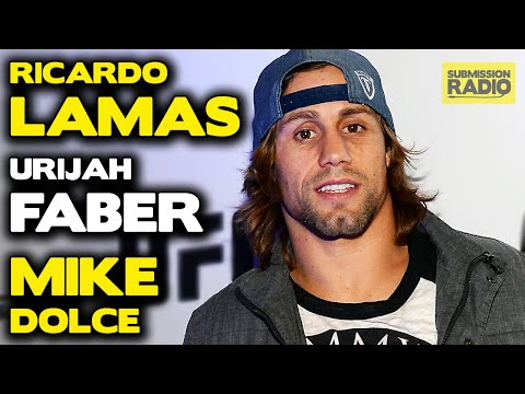 Submission Radio #74 Urijah Faber, Ricardo Lamas, Mike Dolce + UFC Seoul