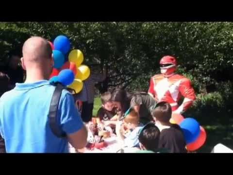 Power Ranger Birthday Party - call (866)434-4101 for kids Birthday Party Ideas