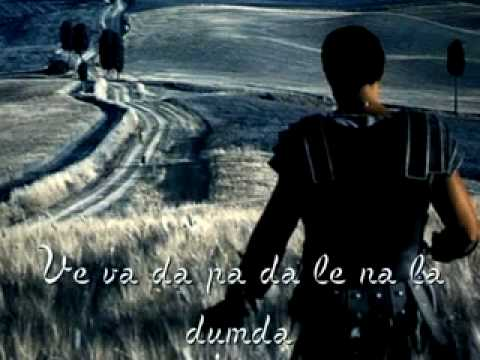  Soundtrack - Gladiator - Now We Are Free (with lyric).flv