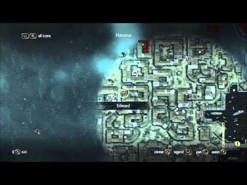 Assassins Creed 4 Black Flag a Huge Open World Map!