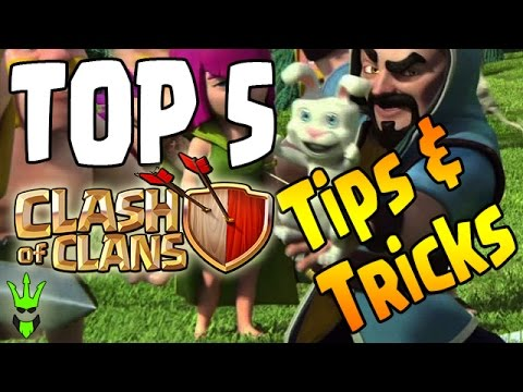 TOP 5 TIPS & TRICKS FOR CLASH OF CLANS! - Make Gameplay Easier! - CoC Useful Tips