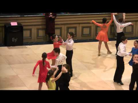 Yaffa and James @ Manhatten Amateur Classic 2011. Pre-Teen ll Silver Rumba