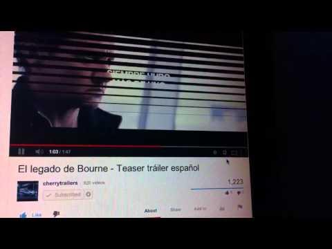 El Legado De Bourne: Teaser Tráiler En Español HD 1080P