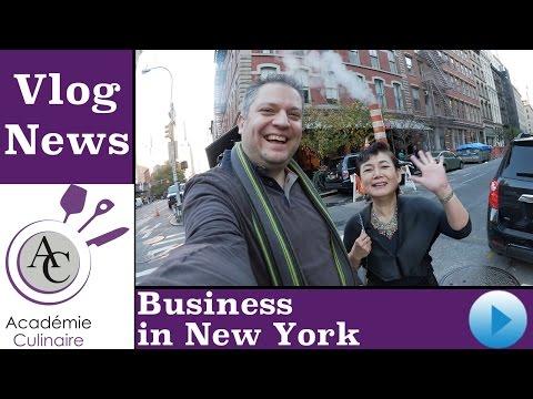 Vlog N°4-2015 | Meng japanesch Business Partner zu New York | Académie Culinaire
