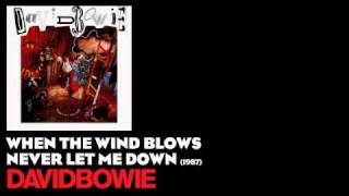 Watch David Bowie When The Wind Blows video