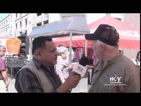 HOY COAHUILA. Día del TACO en Monclova. Entrevista a Bretón Echeverría Vitali (TACOS VITALI) 2015
